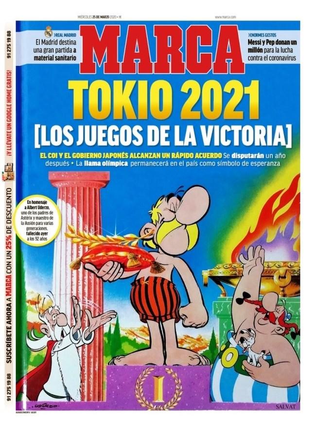 """Συγκινούν """"Marca"""" και """"L' Equipe"""": Ο Αστερίξ στους Ολυμπιακούς Αγώνες """"της Νίκης"""""""