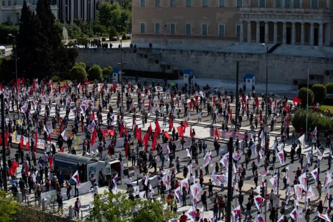 Πρωτομαγιά Αθήνα