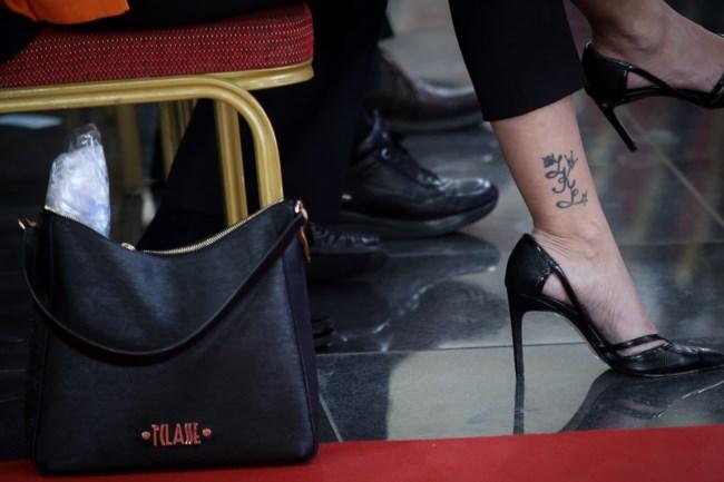 Το κρυφό τατουάζ της Νόνης Δούνια που τράβηξε τα βλέμματα όλων