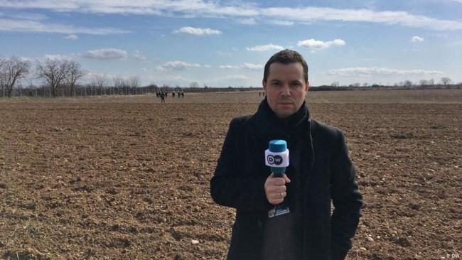 O δημοσιογράφος του ελληνικού προγράμματος της DW Κώστας Συμεωνίδης