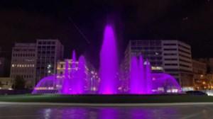 """""""Ξαναζωντανεύει"""" από σήμερα η πλατεία Ομονοίας: Φωταγωγείται το βράδυ το συντριβάνι"""