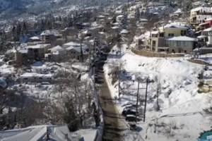 """Κακοκαιρία """"Λέανδρος"""": Ερχεται η τρίτη φάση με χιόνια στην Αθήνα και παγετό σε όλη τη χώρα [χάρτες] - εικόνα 4"""