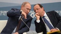 Eπικοινωνία Πούτιν-Ολάντ για την Ουκρανία