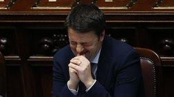 Ο Ρέντσι πήρε άνετα ψήφο εμπιστοσύνης από τη Βουλή