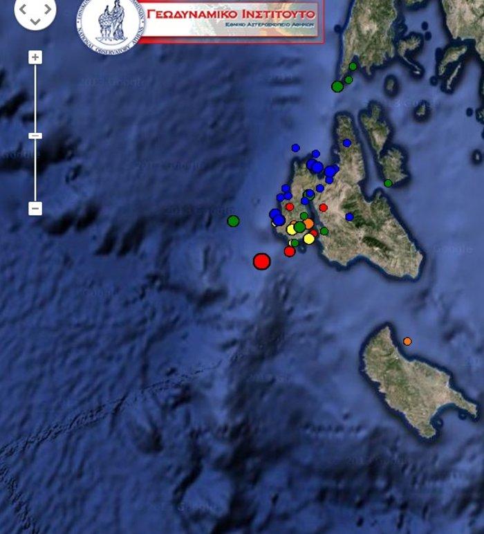 Ο Εγκέλαδος ξαναχτύπησε την Κεφαλονιά: Σεισμική δόνηση 4.7 Ρίχτερ