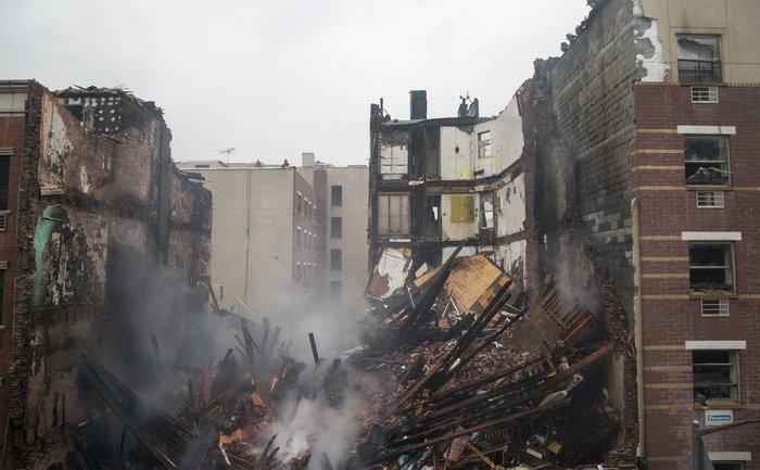 Εκρηξη και κατάρρευση δύο κτιρίων στο Χάρλεμ με νεκρούς και τουλάχιστον 60 τραυματίες