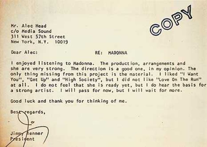 10 Painful Rejection Letters To Famous People Proving You Should
