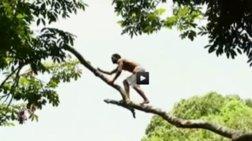 Βουτιά στον Αμαζόνιο από 35 μέτρα