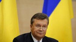 Επανεμφάνιση Γιανούκοβιτς: Ζητά δημοψήφισμα σε κάθε περιοχή της Ουκρανίας