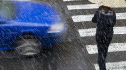 Κυκλοφοριακό κομφούζιο λόγω βροχής και έργων
