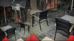 Επιχείρησαν να κάψουν καφετέρια λόγω...ΠΑΟΚ
