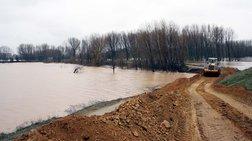 Εβρος: Στα όρια συναγερμού η στάθμη του ποταμού