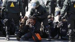 Μάχες της αστυνομίας με διαδηλωτές σε πόλεις της Γερμανίας