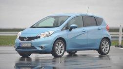 Bράβευση του νέου Nissan Note για την τεχνολογία Safety Shield