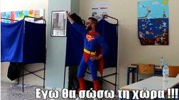 Ο Superman στη Θεσσαλονίκη!