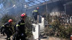 Εφιαλτικές στιγμές στις φλόγες για ηλικιωμένους