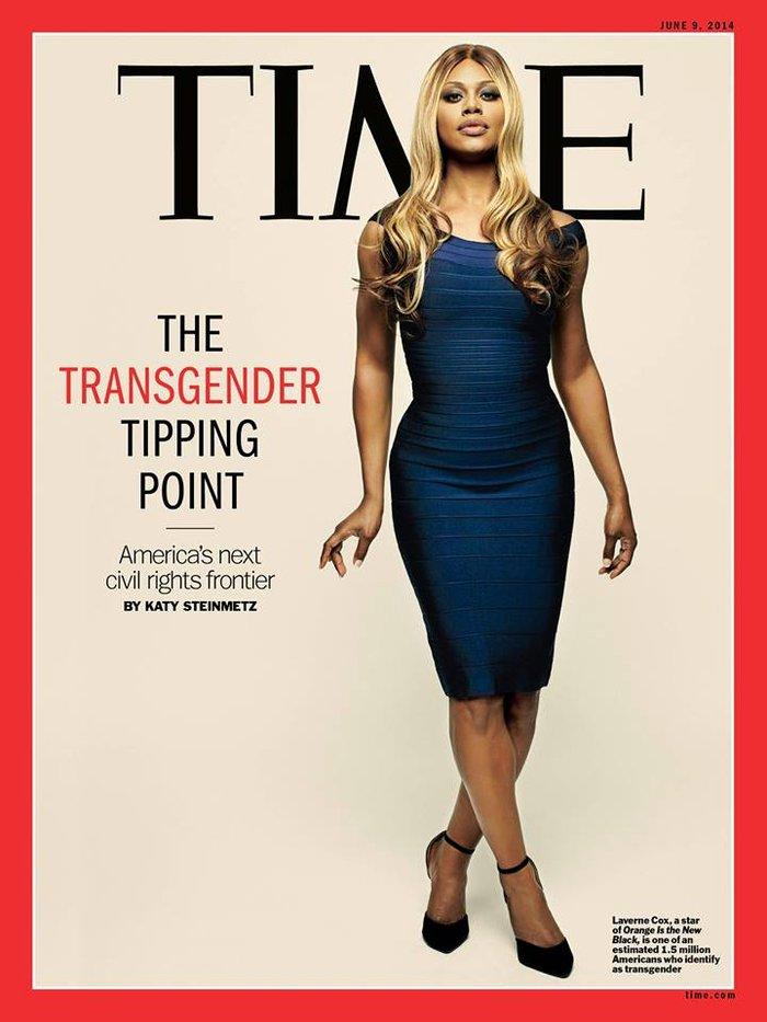 Μία τρανσέξουαλ πρώτη φορά εξώφυλλο στο TIME