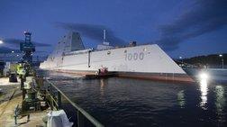Το «αόρατο θωρηκτό» του Πολεμικού Ναυτικού των ΗΠΑ