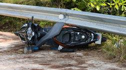 Νεκρός 80χρονος μοτοσυκλετιστής σε τροχαίο