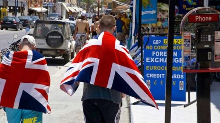 Αποτέλεσμα εικόνας για Άγγλοι τουριστες