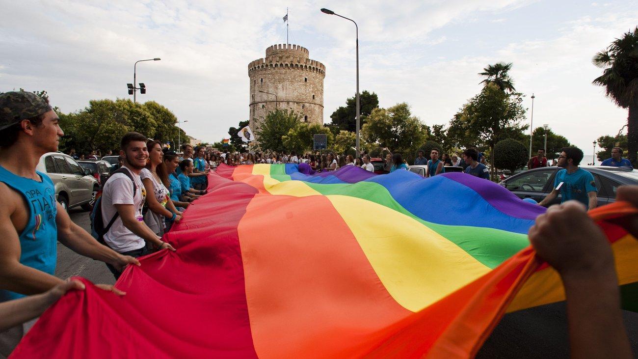 Αποτέλεσμα εικόνας για 6o gay pride 2017 Θεσσαλονίκη 14 Ιουνίου