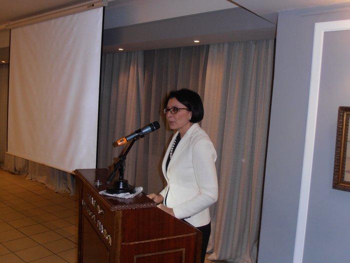 Η καθηγήτρια Φωτεινή Παζαρτζή στον ΟΗΕ