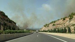 Μεγάλη φωτιά στο Μάζι Μαλεσίνας