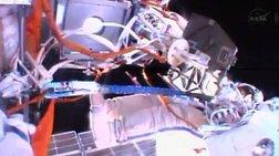 Κοσμοναύτες εκτός διαστημικού σταθμού