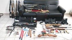 Συνελήφθη 44χρονος δάσκαλος με τεράστιο «πολεμικό» εξοπλισμό