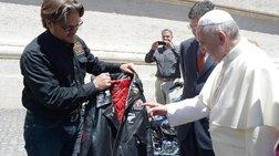 Ανάρπαστη η Harley του Πάπα Φραγκίσκου: Δημοπρατήθηκε έναντι 210.000 ευρώ