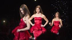 Ανάψτε πράσινο με... κόκκινο φόρεμα
