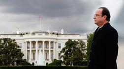 Στον Λευκό Οίκο μόνος ο Φρανσουά Ολάντ