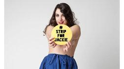Νεαροί Λιβανέζοι γδύνονται για τη γυμνόστηθη σκιέρ