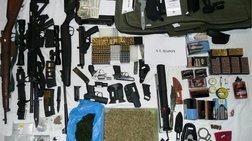 Ζευγάρι αλλοδαπών συνελήφθη στην Αντίπαρο για αρχαία, όπλα και ναρκωτικά