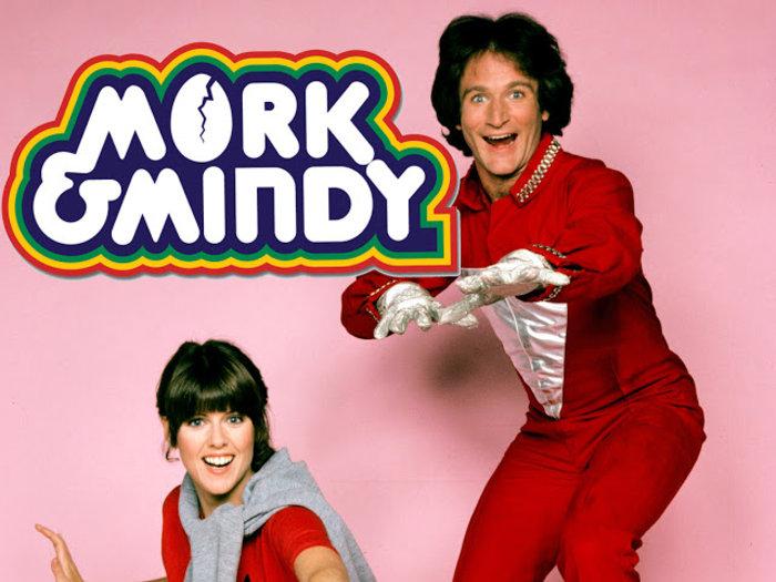 Mork & Mindy: Η σειρά που έκανε τον Robin Williams διάσημο στην Αμερική.