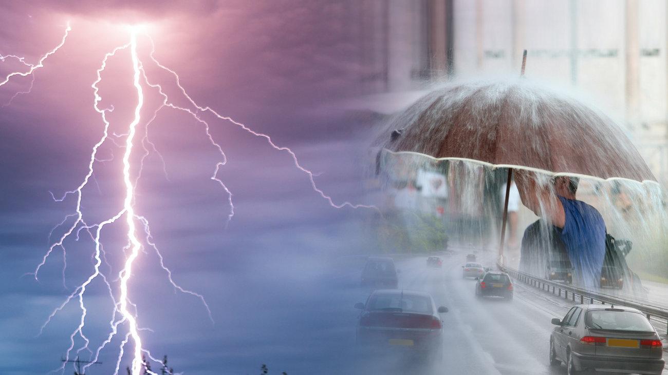 Αποτέλεσμα εικόνας για καταιγίδες και χαλαζι