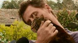 """""""Η γάτα μού έσωσε τη ζωή"""""""