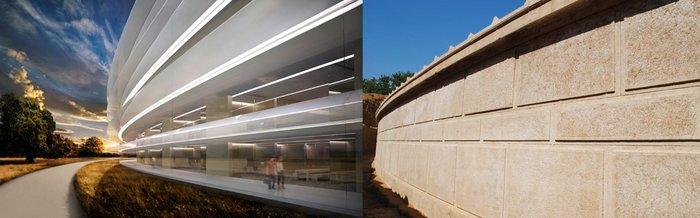 Η αρχιτεκτονική ομοιότητα θα μπουρούσε να χαρακτηριστεί εντυπωσιακή