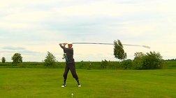 Το μεγαλύτερο μπαστούνι του γκολφ στον κόσμο σε δράση