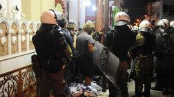 Στα δικαστήρια οι συλληφθέντες των επεισοδίων στο Κερατσίνι