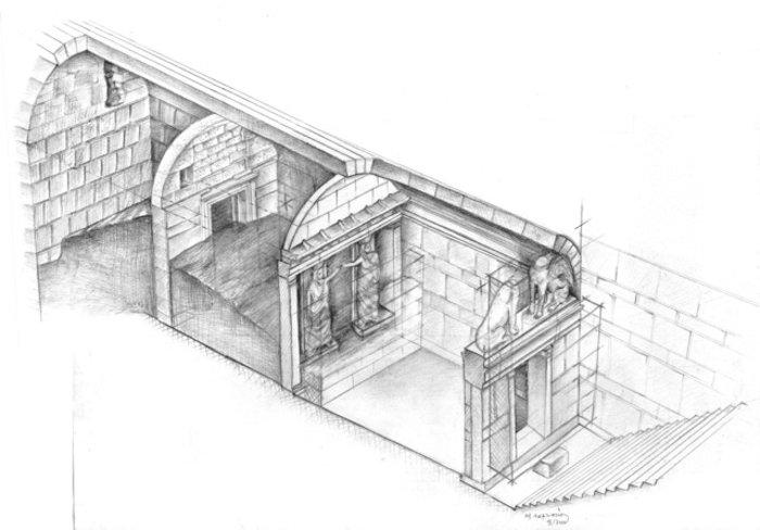 Αμφίπολη: Οι Καρυάτιδες «δείχνουν» τέλος 4ου αιώνα π.Χ. - εικόνα 3