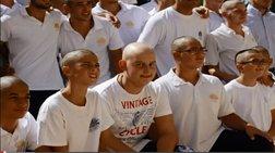 Μαθητές ξύρισαν τα κεφάλια τους για τον συμμαθητή τους