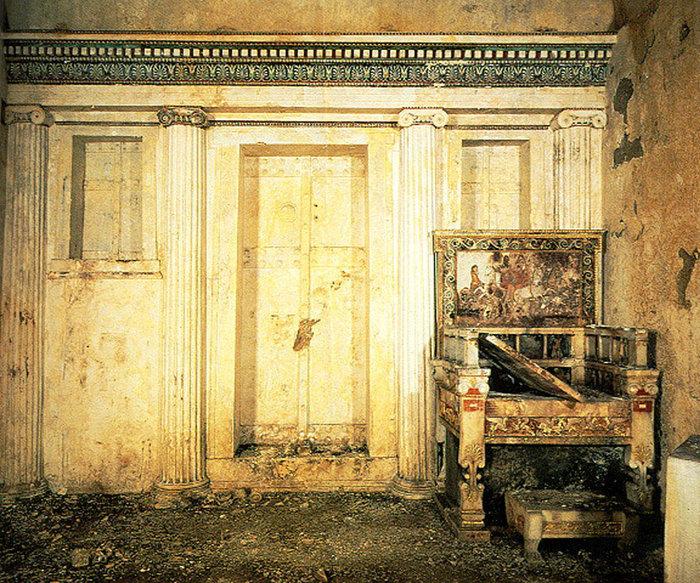 Ο τάφος της Ευρυδίκης, μητέρας του Φιλίππου