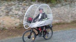 Μια στέγη για το ποδήλατό σας και τις μέρες της βροχής