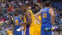 ΝΒΑ: Παίκτης των Λέικερς πέταξε παπούτσι!