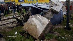 Θεσσαλονίκη: Σύγκρουση τρένου με ΙΧ.Ενας νεκρός, μια σοβαρά τραυματίας