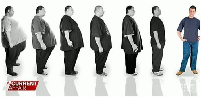 Εχασε 200 κιλά σε ένα χρόνο