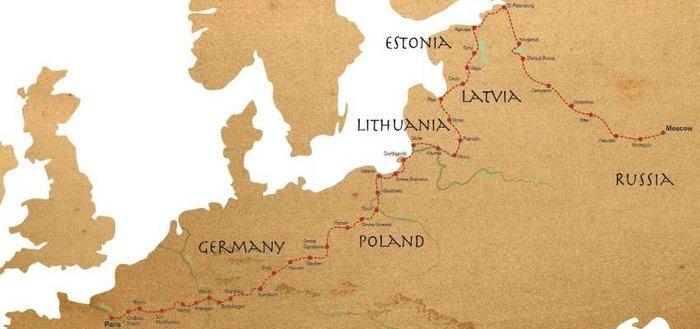 Ποδηλασία στους δρόμους των Ευρωπαίων κατακτητών