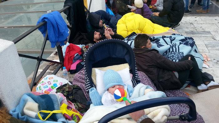 """Σύριοι πρόσφυγες: """"Θέλουμε το δικαίωμα στη ζωή"""""""