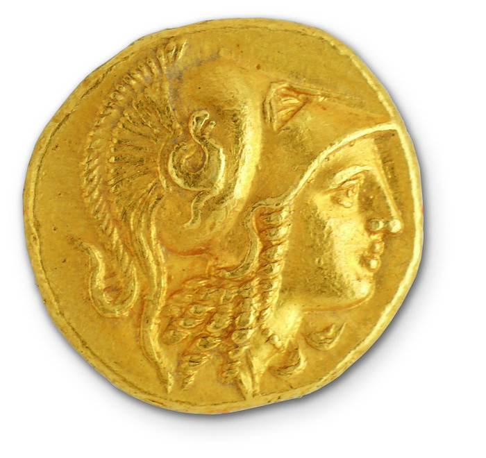 Χρυσός στατήρας Μ. Αλεξάνδρου 330-320 π.Χ. Νομισματοκοπείο Αμφίπολης